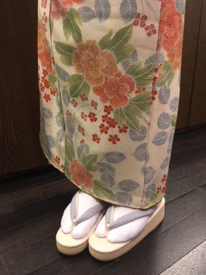 カフェぞうり江戸小紋シリーズ