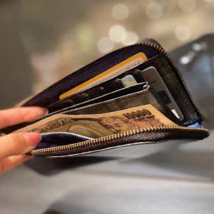 タテタバ財布